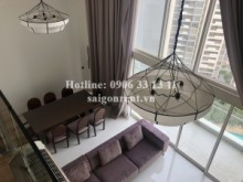Penthouse/ Douplex for rent in District 2 - Thu Duc City - Beautiful and nice pool view Duplex 4bedrooms on 19th floor for rent in Estella 1 Building, district 2. 3500 USD