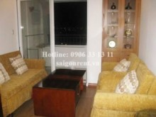 Apartment for rent in Thu Duc City - Nice apartment for rent in 4S Riverside Building, Thu Duc District: 550 USD