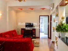 Khanh Hoi 1 Building in District 4- 02 bedrooms on 2nd floor  for rent on Ben Van Don street with usable 77sqm- 550 USD ( 12.000.000 VND)