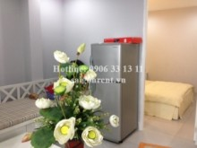 Nice serviced studio apartment 01 bedroom for rent on Le Thi Rieng street, District 1 - 35sqm- 450$