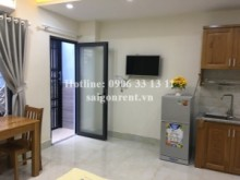 Serviced Apartments for rent in District 3 - Studio apatrment 01 bedroom with small garden for rent on Nguyen Thien Thuat street, District 3 - 30sqm - 350 USD