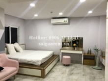 Serviced Apartments for rent in Binh Thanh District - Serviced studio apartment 01 bedroom for rent on Nguyen Huu Canh street - Binh Thanh District - 40sqm - 390 USD