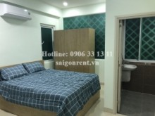 Serviced Apartments for rent in Binh Thanh District - Serviced studio apartment 01 bedroom on 4th floor for rent on Tran Binh Trong street, Binh Thanh District - 35sqm - 300 USD