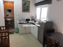 Nice serviced 01 bedroom, kitchen room, 35sqm for rent in Vo Thi Sau street, District 1,  450 USD