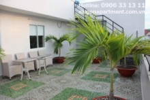 Serviced Apartments for rent in District 3 - Penhouse apartment 02 bedrooms with very nice balcony for rent in center district 3 - 1000 USD