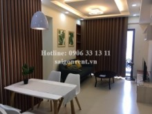 Apartment for rent in District 2 - Masteri Building - Apartment 02 bedrooms on 17th floor for rent on Ha Noi highway - District 2 - 68sqm - 850 USD
