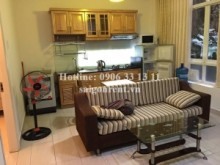 Serviced Apartments for rent in Binh Thanh District - Spacious serviced apartment for rent in Xo Viet Nghe Tinh street, Binh Thanh District, 60sqm: 600 USD