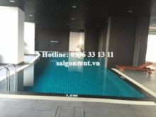 Brand new apartment 02 bedrooms with 10th floor, river view for rent in River City Building, Dao Tri street, District 7: 600 USD