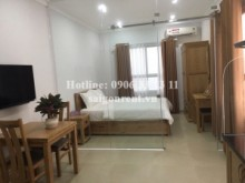 Serviced Apartments for rent in Binh Thanh District - Brand new and nice serviced 01 bedroom for rent on Pham Viet Chanh street, Binh Thanh District - 38sqm - 600 USD