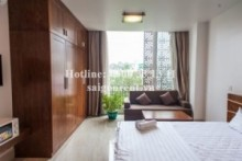 Serviced Apartments for rent in District 10 - Nice serviced apartment 01 bedroom with balcony for rent on Cach Mang Thang Tam street - District 3 and District 10 -  30sqm - 470 USD( 11 Millions VND)