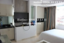Serviced Apartments for rent in District 3 - Serviced studio apartment 1 bedroom for rent in Nam Ky Khoi Nghia street, district 3- 550 USD
