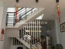 House for rent in District 7 - House for rent in Le Van Luong street, Tan Hung ward, District 7, 180sqm: 350 USD