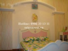 Villa for rent in Binh Thanh District - Beautiful villa for rent in Binh Quoi street, Binh Thanh district, 04 bedrooms: 2050 USD