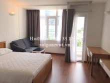 Serviced Apartments for rent in District 3 - Nice serviced studio apartment 01 bedroom with balcony for rent on Tran Cao Van street, District 3 - 45sqm - 750 USD