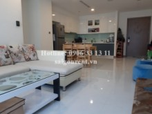 Apartment for rent in Binh Thanh District - Vinhome Central Park - Apartment 02 bedrooms on  42th floor for rent on Nguyen Huu Canh street - Binh Thanh District - 79sqm - 1000 USD