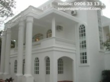 Villa for rent in District 2 - White Villa for rent unfurnished in Thao Dien ward, District 2- 4000 USD