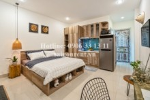 Serviced Apartments for rent in District 3 - Serviced studio apartment 01 bedroom for rent on Nguyen Van Mai street, District 3 - 28sqm - 400 USD