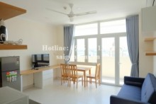 Serviced Apartments for rent in Binh Thanh District - Serviced apartment 02 bedrooms with balcony for rent on Bui Huu Nghia street, Binh Thanh District - 65sqm - 750USD