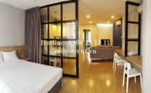 Beautiful serviced apartment 01 bedroom with big balcony for rent on Nguyen Binh Khiem street - District 1 - 60sqm - 1100$