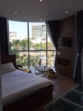 Serviced Apartments for rent in District 3 - Serviced studio apartment with balcony for rent on Truong Sa street, District 3 - 60sqm - 550USD