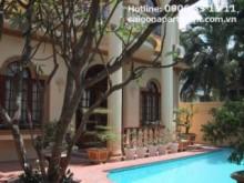 Villa for rent in District 2 - Wooden floor Villa on Nguyen Dang Giai Street, Thao Dien ward, dist2-3000 USD