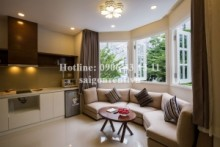Serviced Apartments for rent in Binh Thanh District - Brand new and Luxury serviced apartment 01 bedrooms for rent on Nguyen Huu Canh street - Binh Thanh District - 45sqm - 900USD