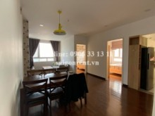 Apartment for rent in Binh Thanh District - Riverside 90 Building - Apartment 02bedrooms on 23th floor for rent at 90 Nguyen Huu Canh street, Binh Thanh District - 65sqm - 600 USD