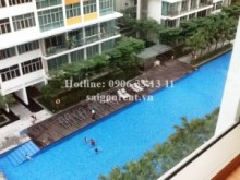 Apartment for rent in District 2 - Apartment for rent in The Vista An Phu building, 03 bedrooms - 1250 USD