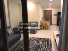 Apartment for rent in Binh Thanh District - Vinhome Central Park - Apartment 02 bedrooms on 29th floor for rent on Nguyen Huu Canh street - Binh Thanh District - 70sqm - 950 USD