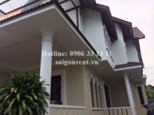 Villa for rent in District 2  - Villa 03 bedrooms for rent on Nguyen Van Huong street, District 2 - 320sqm - 2500 USD