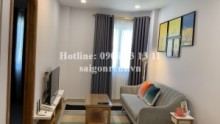 Serviced Apartments for rent in Binh Thanh District - Beautiful and brand new serviced apartment 01 bedroom separate living room for rent on Nguyen Cuu Van Street - Binh Thanh District - 45sqm - 750 USD