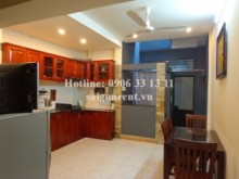 Serviced Apartments for rent in District 10 - Nice service aparment 02 bedrooms, Living room, Backyark,  for rent on ground floor on Ba Vi street, District 10 - 100sqm - 550USD