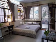 Serviced Apartments for rent in District 1 - Studio serviced apartment with balcony for rent on Nguyen Binh Khiem street - District 1 - 30sqm - 550USD
