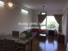 Apartment for rent in District 7 - Beautiful 02 bedrooms apartment with wooden floor for rent in Ehome 5 builidng, Tran Trong Cung street, district 7- 600 USD