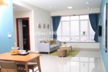 Apartment for rent in District 5 - Ngoc Phuong Nam Building - Apartment 02 bedrooms for rent on Au Duong Lan street, District 8 - 80sqm - 580USD( 13 Millions VND)