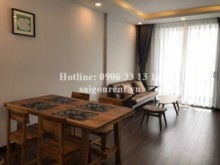 Apartment for rent in Phu Nhuan District - Beautiful apartment 02 bedrooms for rent in Kingston Residence building, Nguyen Van Troi street,  Phu Nhuan District- 80sqm- 1200 USD