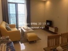 Apartment for rent in Binh Thanh District - Vinhome Central Park - Apartment 02 bedrooms on 38th floor for rent on Nguyen Huu Canh street - Binh Thanh District - 80sqm - 860 USD( 20 millions VND)