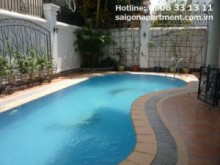 Villa for rent in District 2 - Villa with nice pool for rent in Nguyen Van Huong street, dist 2- 2900 USD