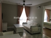 Serviced Apartments for rent in District 2 - Nice serviced apartment 02 bedrooms on ground floor for rent on Nguyen Van Huong street, Thao Dien ward, District 2- 58sqm- 850 USD