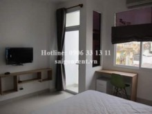 Serviced Apartments for rent in District 3 - Nice serviced studio apartment 01 bedroom for rent on Hoang Sa street, ward 7, district 3- 28sqm - 400 USD